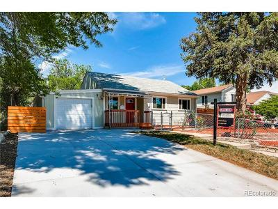 Denver Single Family Home Active: 2345 South Knox Court