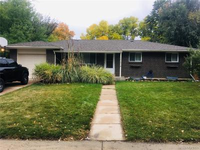 Arvada Single Family Home Under Contract: 12160 West 65th Avenue