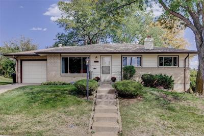 Denver Single Family Home Under Contract: 2732 South Vrain Street
