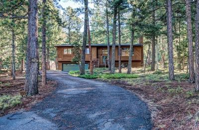 Woodland Park Single Family Home Under Contract: 1129 Forest Hill Road