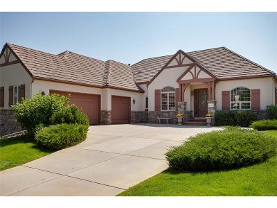 Castle Pines Single Family Home Under Contract: 7518 Glen Ridge Drive