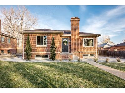 Denver Single Family Home Active: 2710 Xavier Street