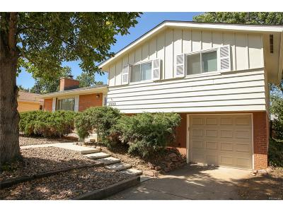 Boulder Single Family Home Under Contract: 3989 Fuller Court