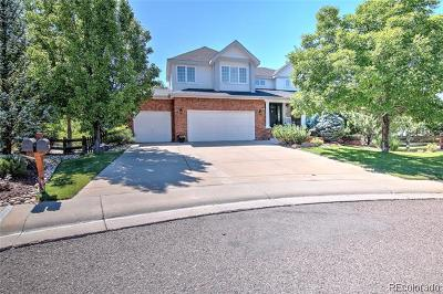 Castle Pines Single Family Home Active: 679 Tetbury Court