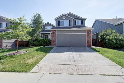 Highlands Ranch Single Family Home Under Contract: 9416 High Cliffe Street