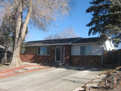 Westminster Single Family Home Under Contract: 9230 Irving Street