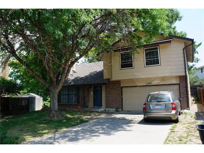 Cotton Creek Single Family Home Under Contract: 11065 Vrain Street
