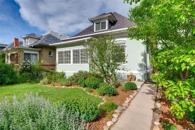 Denver Single Family Home Under Contract: 1242 South Lincoln Street