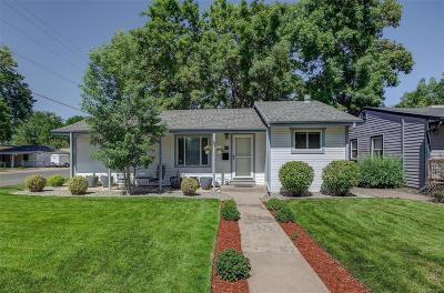 Englewood Single Family Home Under Contract: 4499 South Pearl Street