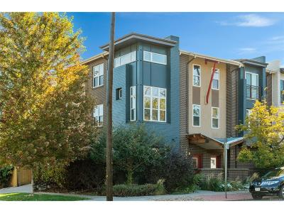 Condo/Townhouse Under Contract: 3346 Tejon Street