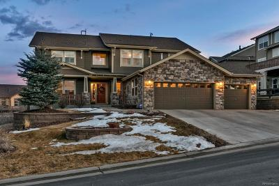 Castle Rock Single Family Home Under Contract: 2290 Ridgetrail Drive
