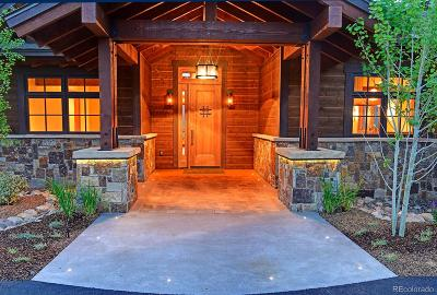 Steamboat Springs Single Family Home Active: 30485 Marshall Ridge Road #Lot 10 S