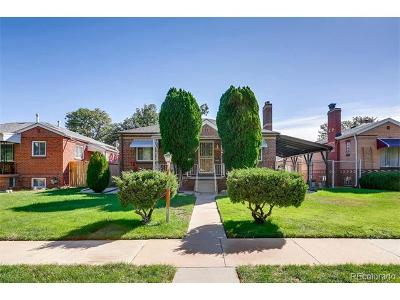 Denver Single Family Home Active: 4564 Zuni Street