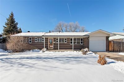 Arvada Single Family Home Active: 8103 Chase Drive