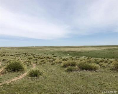 Elbert County Residential Lots & Land Active: 02 County Road 153