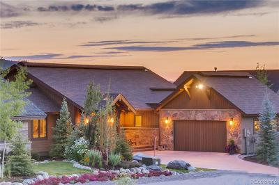 Steamboat Springs Single Family Home Active: 1271 Clubhouse Circle