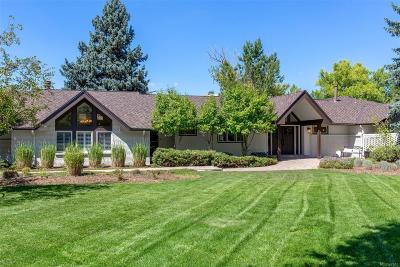 Cherry Hills Village Single Family Home Under Contract: 24 Viking Drive