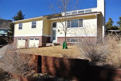 Castle Rock Single Family Home Under Contract: 307 Johnson Drive