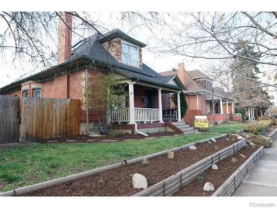 Denver Single Family Home Under Contract: 765 South Grant Street