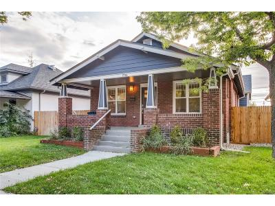 Single Family Home Under Contract: 1735 South Sherman Street