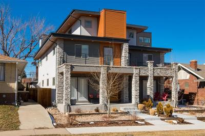 Denver Condo/Townhouse Active: 3839 Stuart Street