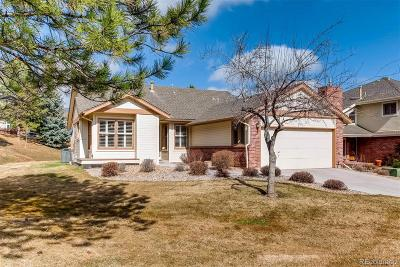 Littleton Single Family Home Under Contract: 5 Red Cedar