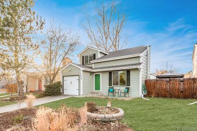 Arvada Single Family Home Active: 7629 Depew Street