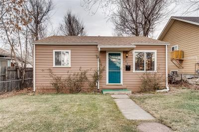 Denver Single Family Home Active: 126 Osceola Street