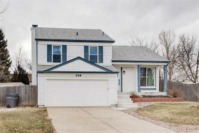 Lafayette Single Family Home Under Contract: 928 Vetch Circle