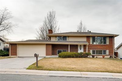 Arvada Single Family Home Active: 7451 Teller Street