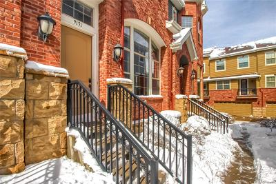 Lone Tree Condo/Townhouse Under Contract: 9151 Kornbrust Circle