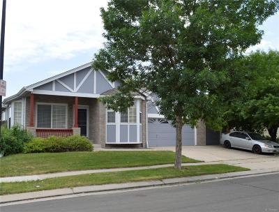 Commerce City Single Family Home Active: 10512 Tucson Street