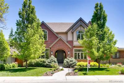 Denver Single Family Home Active: 1010 South Monroe Street