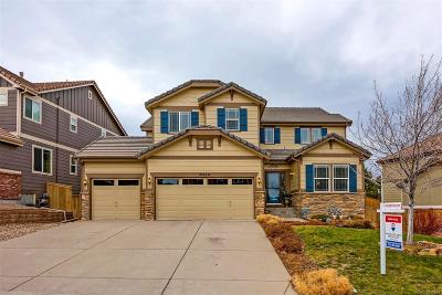 Highlands Ranch Single Family Home Under Contract: 10969 Valleybrook Circle