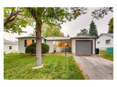 Littleton Single Family Home Under Contract: 5286 South Grant Street
