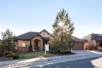 Castle Rock Single Family Home Active: 2206 Saddleback Drive