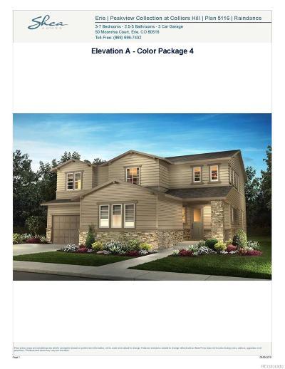 Erie Single Family Home Active: 258 Luna Court