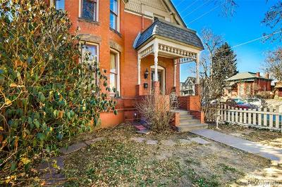 Denver Single Family Home Active: 2749 Decatur Street