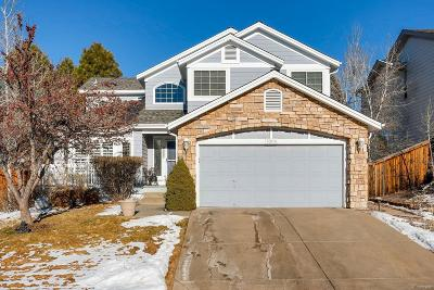 Highlands Ranch Single Family Home Under Contract: 7009 Townsend Drive