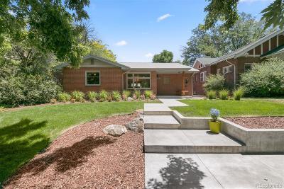 Park Hill, Parkhill Single Family Home Active: 2550 Eudora Street