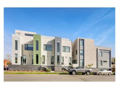 Denver Condo/Townhouse Active: 3444 Navajo Street #105