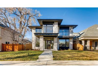 Denver Single Family Home Active: 2369 South Saint Paul Street