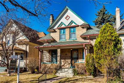 Denver Single Family Home Under Contract: 331 South Sherman Street