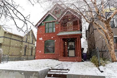 Denver Single Family Home Active: 224 West 4th Avenue