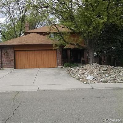 Denver Single Family Home Active: 1025 Locust Street