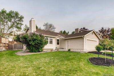 Highlands Ranch Single Family Home Under Contract: 8952 South Coyote Street