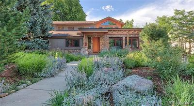 Boulder Single Family Home Active: 531 Hawthorn Avenue