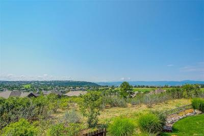 Castle Pines Single Family Home Under Contract: 1254 Buffalo Ridge Road