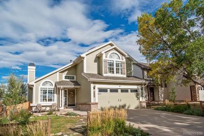 Littleton Single Family Home Under Contract: 7636 Dusk Street