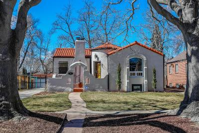 Denver Single Family Home Active: 1565 Hudson Street